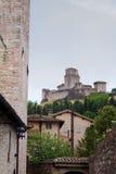 Άποψη Assisi Στοκ Εικόνες