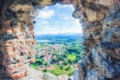 Άποψη Avigliana Στοκ Φωτογραφίες