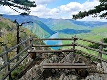 Άποψη Banjska Stena στοκ φωτογραφία με δικαίωμα ελεύθερης χρήσης