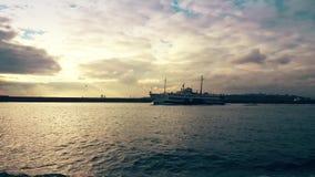 Άποψη Bosphorus από το πορθμείο φιλμ μικρού μήκους