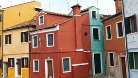 Άποψη Burano, Ιταλία 4 Κ απόθεμα βίντεο