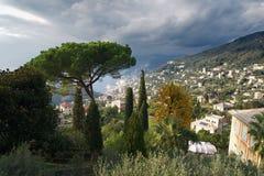 Άποψη Camogli Στοκ Φωτογραφία