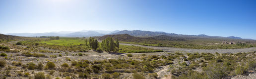 Άποψη Cenic των βουνών στο San Juan, Αργεντινή Στοκ φωτογραφία με δικαίωμα ελεύθερης χρήσης