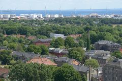 Άποψη Christianshavn Στοκ Εικόνες