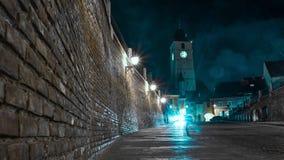 Άποψη Cinematic του Sibiu στοκ φωτογραφία με δικαίωμα ελεύθερης χρήσης