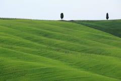 Άποψη d'Orcia Val Στοκ φωτογραφίες με δικαίωμα ελεύθερης χρήσης