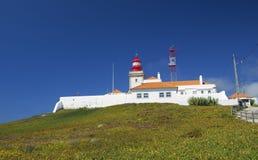 Άποψη DA Roca Cabo Στοκ εικόνα με δικαίωμα ελεύθερης χρήσης
