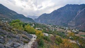 Άποψη Danba, Sichuan Στοκ φωτογραφία με δικαίωμα ελεύθερης χρήσης