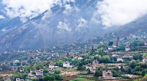 Άποψη Danba, Sichuan 3 Στοκ Εικόνες