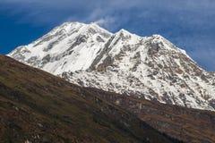 Άποψη Dhaulagiri Στοκ Εικόνες
