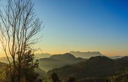 Άποψη Doi Luang Chiang Dao Στοκ φωτογραφία με δικαίωμα ελεύθερης χρήσης
