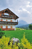 Άποψη Dolomiti στην Ιταλία στοκ εικόνες με δικαίωμα ελεύθερης χρήσης