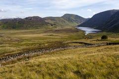 Άποψη Eigiau Cwm στοκ εικόνα