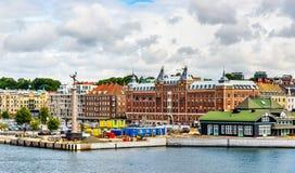 Άποψη Helsingborg του κέντρου της πόλης - Σουηδία Στοκ Φωτογραφίες