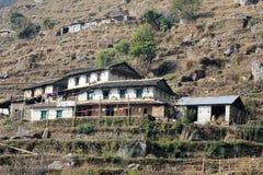 Άποψη Hill του Νεπάλ Poon Στοκ Φωτογραφίες