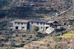 Άποψη Hill Poon στο Νεπάλ Στοκ Εικόνες