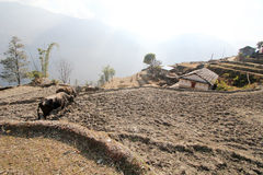 Άποψη Hill Poon στο Νεπάλ Στοκ φωτογραφία με δικαίωμα ελεύθερης χρήσης