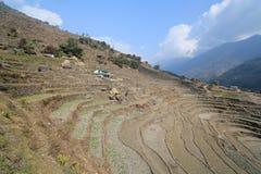 Άποψη Hill Poon στο Νεπάλ Στοκ Εικόνα