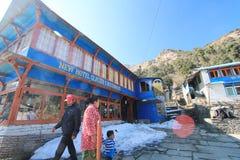 Άποψη Hill Poon στο Νεπάλ Στοκ φωτογραφίες με δικαίωμα ελεύθερης χρήσης