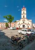 Άποψη Iglesia de Nuestra Senora de στην εκκλησία Λα Merced Στοκ Εικόνες