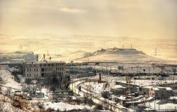 Άποψη Jerevan από το φρούριο Erebuni Στοκ Φωτογραφίες