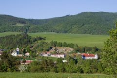 Άποψη Kluknava, Σλοβακία Στοκ φωτογραφίες με δικαίωμα ελεύθερης χρήσης