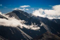 Άποψη Ladakh Ινδία υψηλών βουνών Στοκ Εικόνες