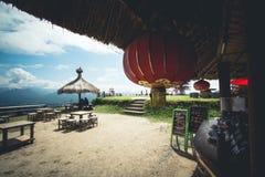 Άποψη lai YUN της Ταϊλάνδης γιων της Mae Hong Pai στοκ εικόνες