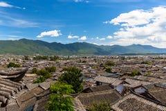Άποψη Lijiang Στοκ φωτογραφία με δικαίωμα ελεύθερης χρήσης