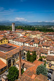 Άποψη Lucca της πόλης, Ιταλία Στοκ Φωτογραφία
