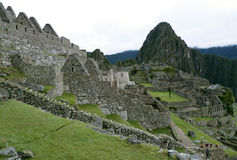 Άποψη Machu Picchu, Περού Στοκ φωτογραφία με δικαίωμα ελεύθερης χρήσης
