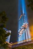 Άποψη Mahanakhon Το νέο υψηλότερο κτήριο στη Μπανγκόκ, Ταϊλάνδη Στοκ φωτογραφία με δικαίωμα ελεύθερης χρήσης
