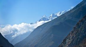 Άποψη Minya Konka, Sichuan Στοκ Εικόνες