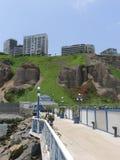 Άποψη Miraflores από την ακτή της Λίμα Στοκ Φωτογραφίες