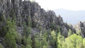 Άποψη Mountian απόθεμα βίντεο
