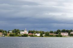 Άποψη Myshkin Ρωσία στοκ φωτογραφία με δικαίωμα ελεύθερης χρήσης
