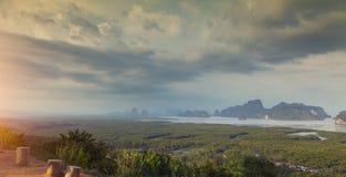 Άποψη Nangshe Samet Στοκ φωτογραφία με δικαίωμα ελεύθερης χρήσης