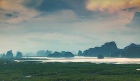 Άποψη Nangshe Samet Στοκ Φωτογραφίες