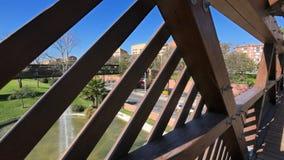 Άποψη Olimpic λιμένων της Βαρκελώνης Ronda Litoral φιλμ μικρού μήκους