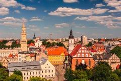 Άποψη Opole από στοκ εικόνα με δικαίωμα ελεύθερης χρήσης
