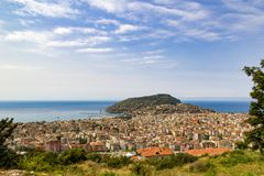 Άποψη Panomorama Antalya στοκ φωτογραφίες