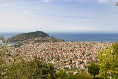 Άποψη Panomorama Antalya στοκ εικόνα