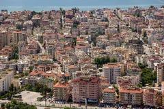 Άποψη Panomorama Antalya στοκ εικόνα με δικαίωμα ελεύθερης χρήσης