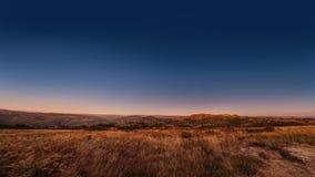 Άποψη Paranoramic πέρα από τους λόφους στοκ εικόνες με δικαίωμα ελεύθερης χρήσης