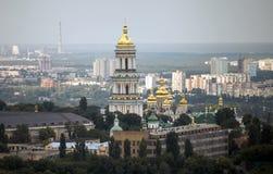 Άποψη Pechersk Lavra Κίεβο, Ουκρανία Στοκ Εικόνες
