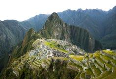 Άποψη Picchu Machu στα ξημερώματα Στοκ εικόνα με δικαίωμα ελεύθερης χρήσης