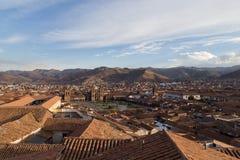 Άποψη Plaza de Armas σε Cusco Στοκ Εικόνες