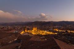 Άποψη Plaza de Armas σε Cusco Στοκ Φωτογραφία