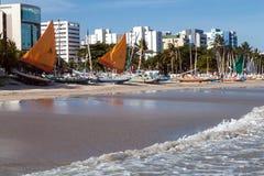 Άποψη Ponta Verde στοκ φωτογραφίες με δικαίωμα ελεύθερης χρήσης