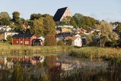 Άποψη Porvoo Στοκ Φωτογραφίες